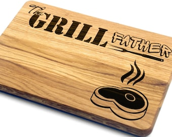 Fathers Day Gift Cutting Board. Gift for Father, Gift for Him, Gift for Husband, Personalized, Engraved, Father's Day