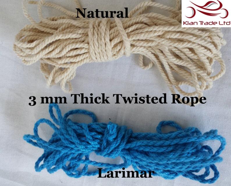 12 mm White Soft Sponge Foam Braided Rope Cord craft Decoration DIY x 5 yards