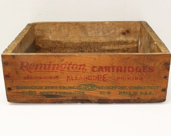 Vintage Ammo Crate Etsy