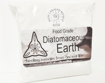 Diatomaceous Earth Food Grade - 4 Oz - 8 Oz - 3 Lb