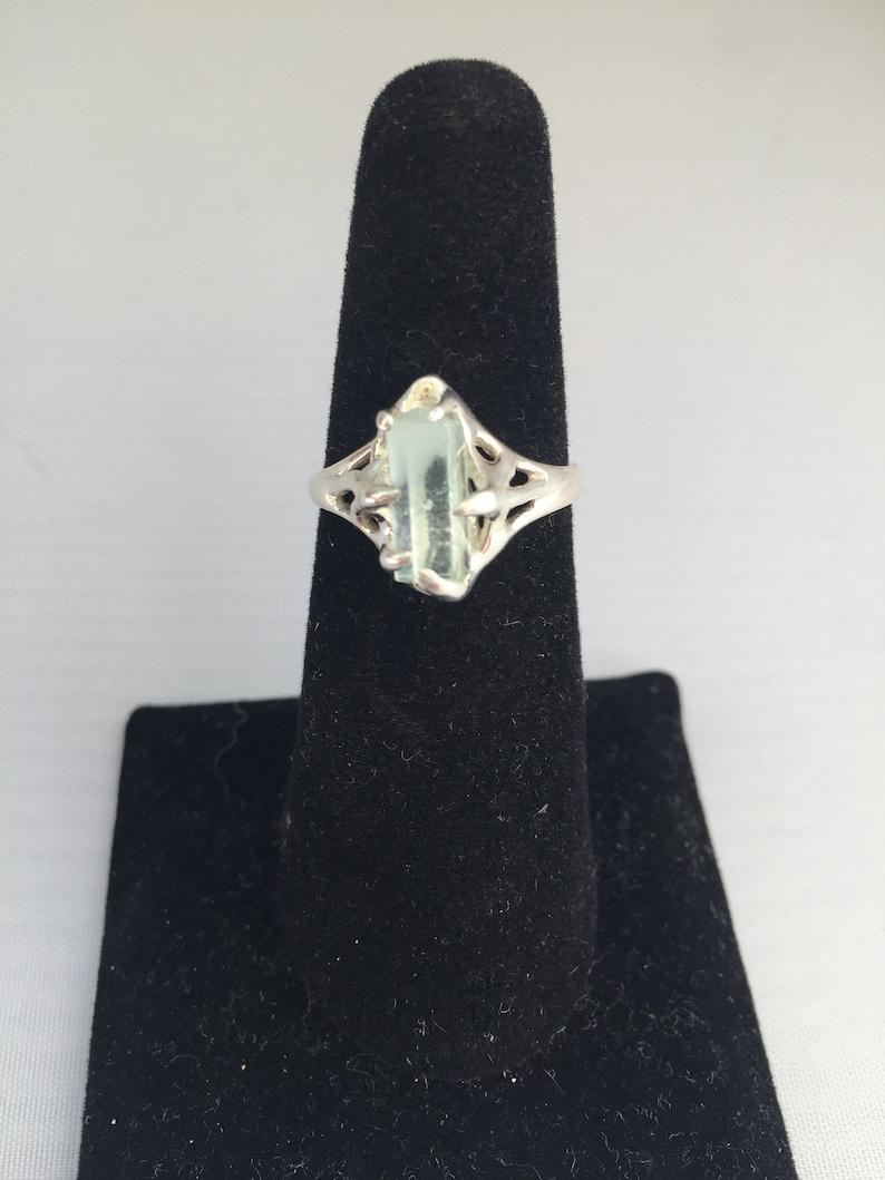 Aquamarine Silver Ring image 0