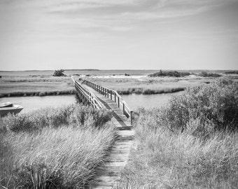 The Bridge (Black and White)
