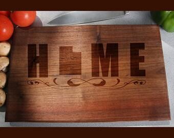 Utah Custom Engraved Cutting Board, Wedding Gift, Home Decor, Anniversary Gift, Bridal Gift, Birthday