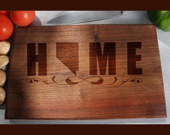 Nevasa Custom Engraved Cutting Board, Wedding Gift, Home Decor, Anniversary Gift, Bridal Gift, Birthday