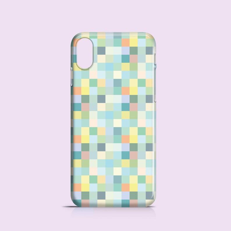 size 40 ffa73 baaf1 Pastel Pixels iPhone X case / iPhone 8 / iPhone 7 case / pixel iPhone Se  case / pastel iPhone 6S case / iPhone 6 / iPhone 5S / iPhone 5