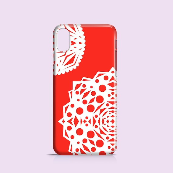 Christmas Phone Case Iphone 7.Red Snowflakes Iphone Xr Case Christmas Iphone 7 Case Iphone 8 Iphone Se Samsung Galaxy S10 Samsung S9 Samsung S8 Iphone 5s