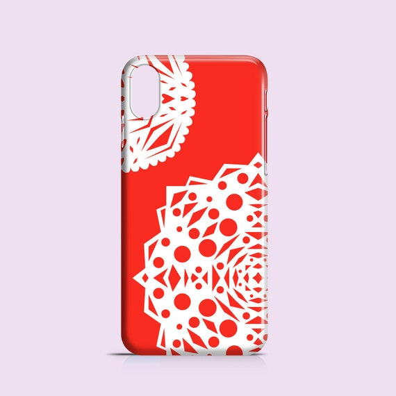 Christmas Phone Case Iphone Xr.Red Snowflakes Iphone Xr Case Christmas Iphone 7 Case Iphone 8 Iphone Se Samsung Galaxy S10 Samsung S9 Samsung S8 Iphone 5s