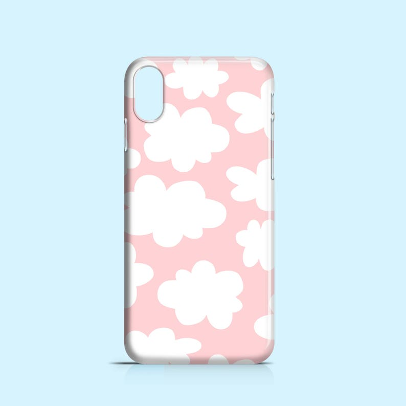 coque iphone xr nuage