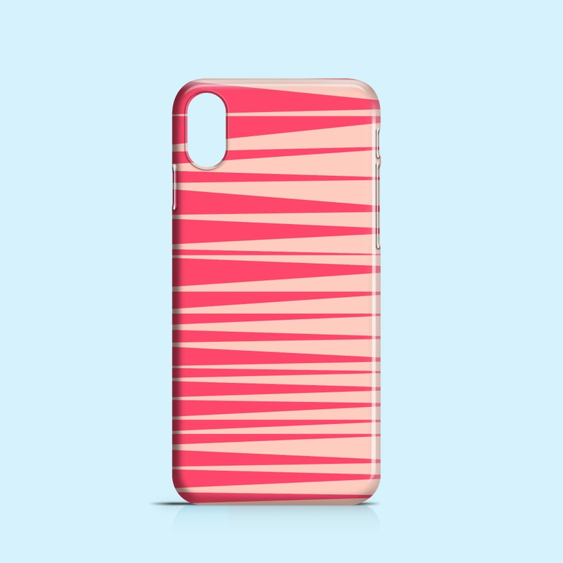 the best attitude 6f84d 0514e Pink stripes phone case / iPhone X / iPhone 8 / pink iPhone 7 / iPhone 7  Plus / iPhone 6/6S / iPhone 5/5S / iPhone Se / Samsung Galaxy S6
