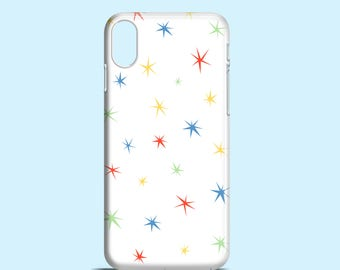 Colour Stars iPhone 12 Pro, iPhone 11, iPhone XS, XR, white iPhone 8, cute iPhone 7, Girly iPhone 7 Plus, summer iPhone 6, iPhone SE 2020