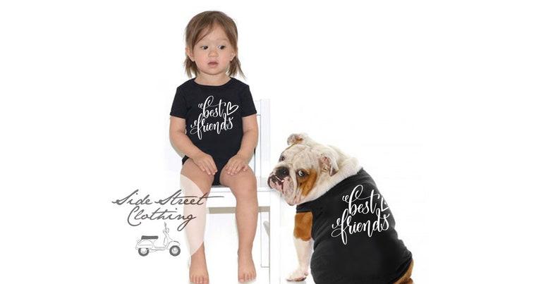 b31d4e3af07f74 Best Friends Tee shirt set OWNER and PET matching shirts