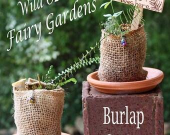 "Wild Ozark ""Burlap Cutie"" Fairy Garden Kits"