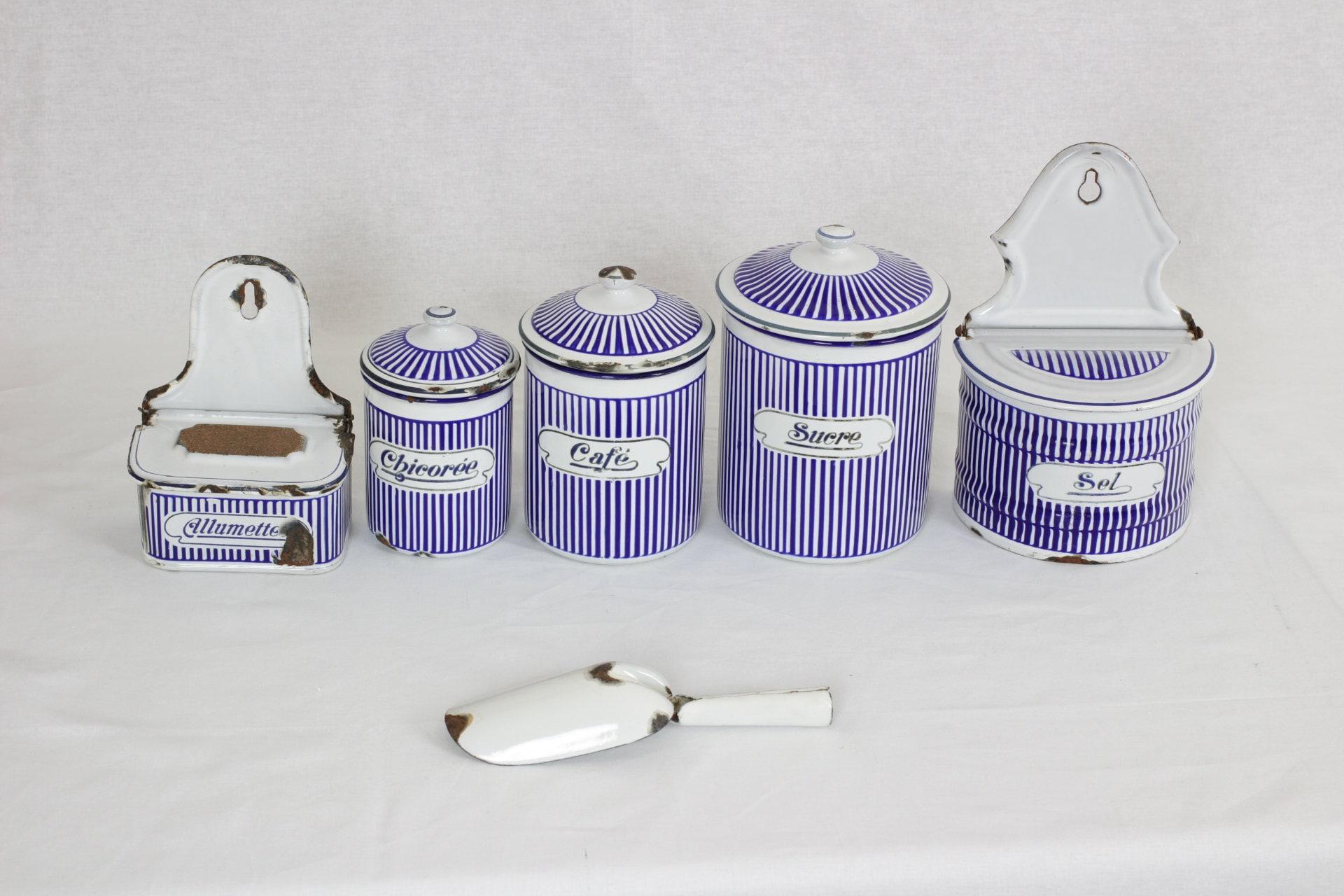 Schön Vintage Keramik Küchen Kanister Sets Galerie - Küchen Ideen ...