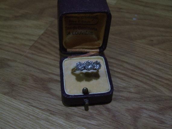 Antique Ring Box // Wedding Ring Box // Engagement