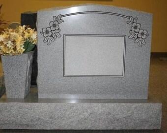 Jet Black Granite Bench Jet Black Memorial Family Bench