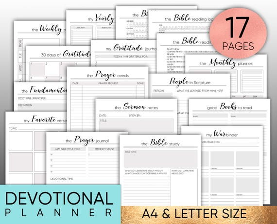 Bible Journal Printable