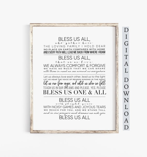 The Muppet Song Bless Us All A Christmas Carol Etsy