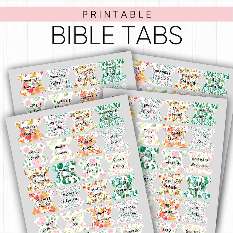 graphic regarding Printable Bible Tabs titled Printable Bible Tabs Bible Tabs, Catholic Bible Tabs, Planner Tabs Bible Journaling Bible Tabs Guides of the Bible Bible Investigation Prayer Magazine