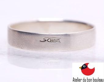Silver Ring 925,, Unisex Rings, Wood Wedding Band, Men Wood Rings, Women Wood Rings, Women's Wood Ring, Womens Wood Rings, Wood Wedding Band