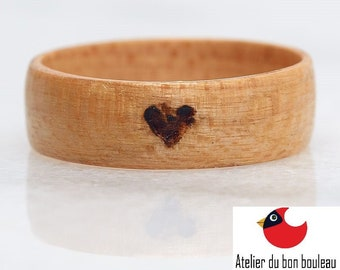 Ring Of Wood, Wood Engagement Ring, Wood Products, Wood Shapes, Halo, Halo Ring, Wood Halo Ring, Wood Halo Rings, Wood Halo Band, Halo Rings