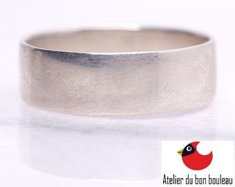 Handmade Silver Ring, 925,, Men Wood Rings, Women Wood Rings, Women's Wood Ring, Womens Wood Rings, Wood Wedding Bands, Nature Ring  5