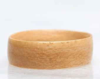 Maple Sugar Ring , Wooden rings, Mens promise ring, Wooden rings for women, Wooden rings for men, Engagement ring men, Mens engagement ring,