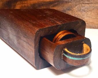 Choose your selection of Mini Log Ring Box, Proposal Ring Box, Wedding Box, Engagement Ring Box,