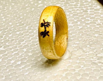 Wedding band man, Wedding rings, Wedding Bands, Mens wedding band, Wooden Ring, Wedding rings women, Wedding band, Anniversary Gift,