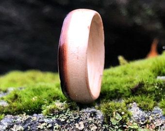 Mens wedding band , Mens engagement ring , Men wedding band, , Wood Ring, Wooden Ring, Bentwood Ring Wedding band, Wedding band man,