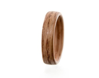 Whiskey barrel ring, Whisky barrel bands,Mens wedding band , Mens engagement ring , Men wedding band, , Wood Ring, Wooden Ring,Made Montreal