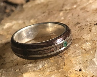 Day Traders Ring, Wall Street reclaimed concrete, A Winning Formula in your hand, Gift for Men, Gift for Women, Day Traders, Finance