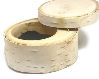 Birch Wedding, Birch Wood, Proposal Box, Ring Box For Wedding, Birch Tree Theme, Birch Ring Box, Birch Box, Ring Storage Box, Eco Ring Box