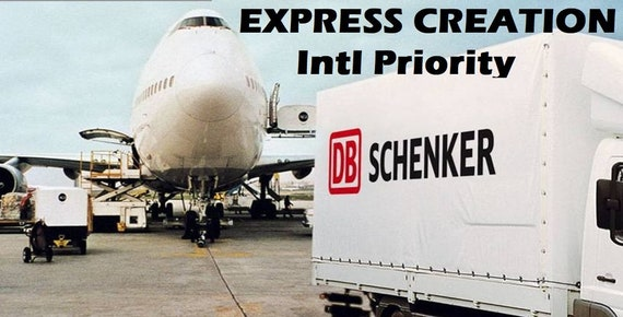 UPGRADE to Express Creation 3 to 5 days - International Express Air Freight