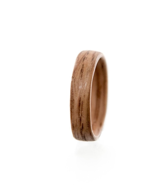 Jack Daniels whiskey barrel wood engagement ring.  whiskey oak wood ring. Whiskey barrel Mens Wedding band , Mens engagement ring,