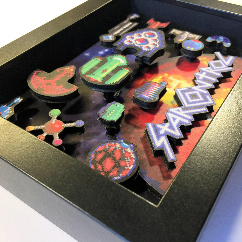 Star Control Mini Shadowbox