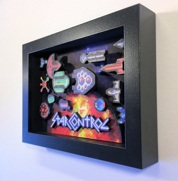 Star Control Mini Shadowbox