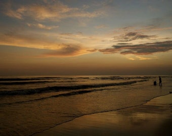 Sunset beach.