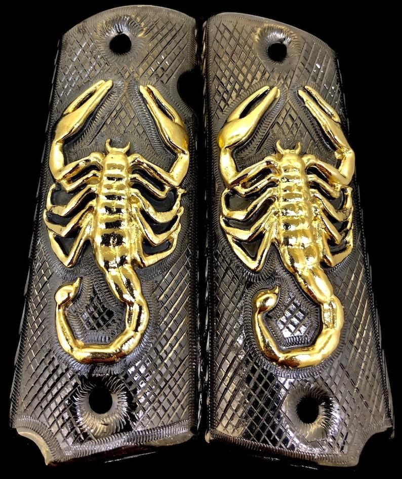 e0fbbc11e937 1911 Gun Grips Scorpion Escorpion Springfield Colt