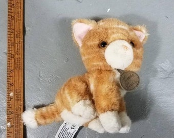 Tabby Cat Plush Etsy