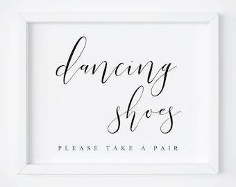 e69684f2e930 Dancing Shoes Sign-Wedding Dancing Shoes Sign-Dancing Shoes Wedding Sign-Wedding  Signs-Wedding Printable-Wedding Decor-Wedding Signage.
