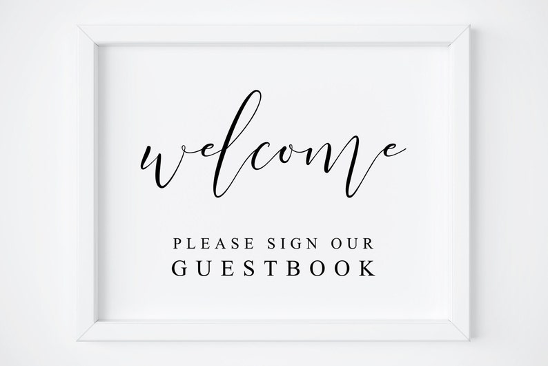 photograph about Please Sign Our Guestbook Printable called Welcome Wedding ceremony Signal-Be sure to Indication Our GuestBook-Wedding day Visitor E book Indicator-Guestbook Signal-Visitor Ebook Indication-Marriage ceremony Printable-Guestbook Printable.