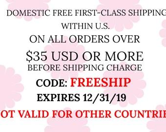 Coupon Code Free Shipping Etsy