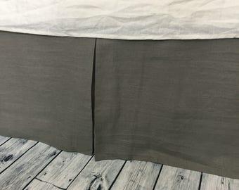 Box Pleat Bedskirt Etsy