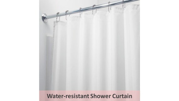 Water Resistant Shower Curtain 90Wx94L