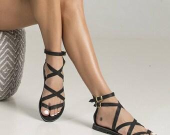 0dbef8f5b09899 Sexy black sandals