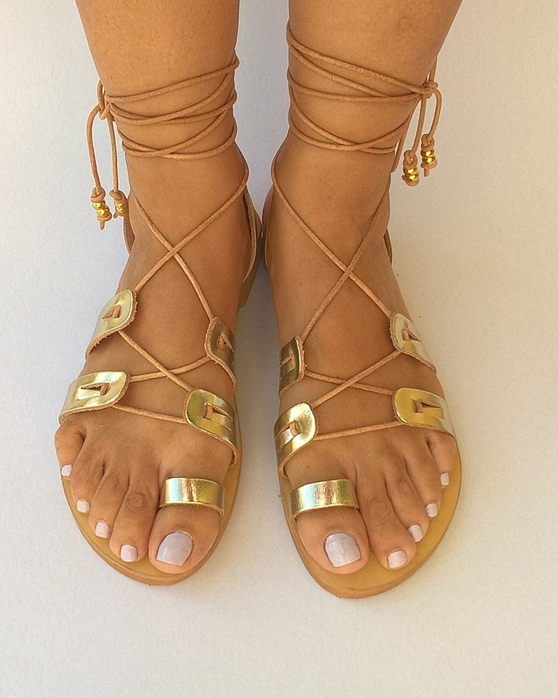 Gladiator Greek Leather Sandals Womens shoes Handmade sandals Womens sandals Strappy sandals