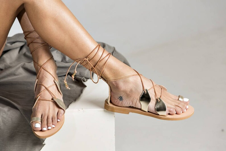 becdbbdcc2c9 Delicate gladiator style shoes Leilani with