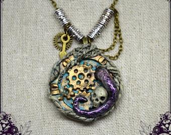 Steampunk necklace - Hublot -