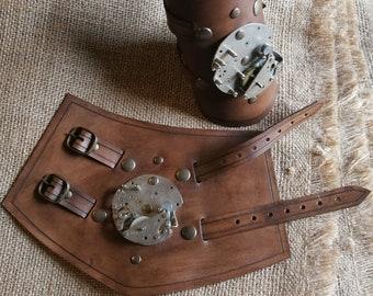 Steampunk bracer with mechanism