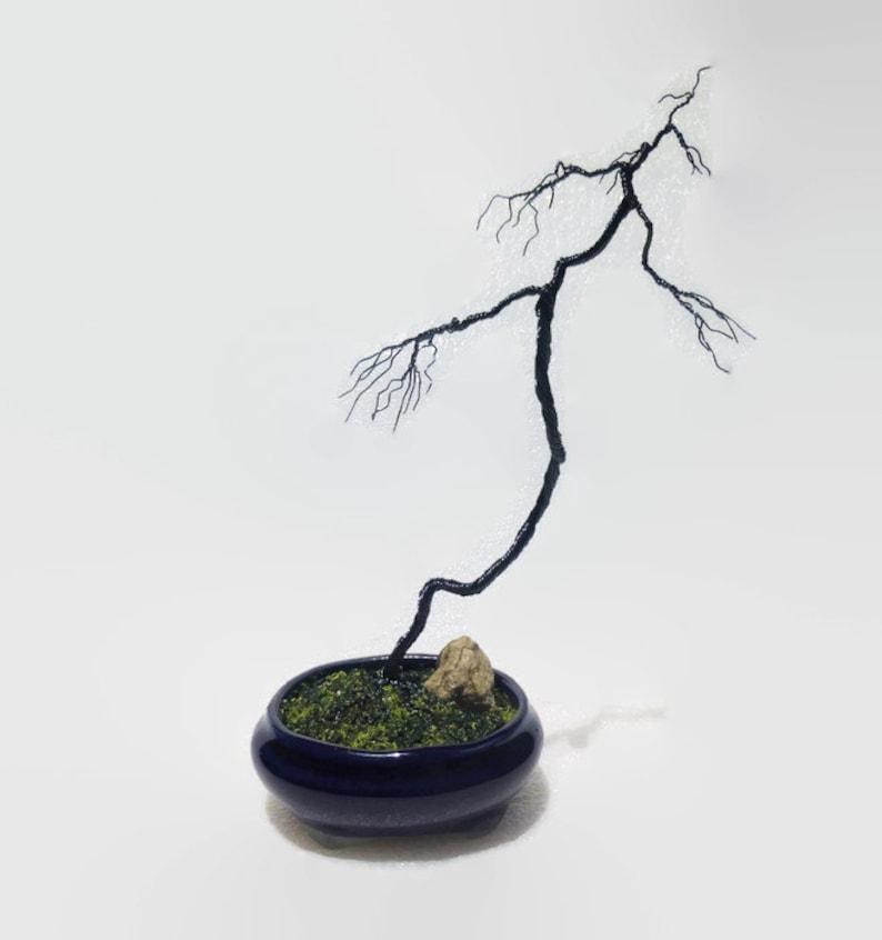 Wondrous Wire Bonsai Tree Literati Bunjin Style Etsy Wiring Cloud Hisonuggs Outletorg